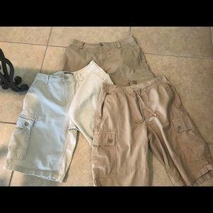 Ralph Lauren size14 boy cargo shorts